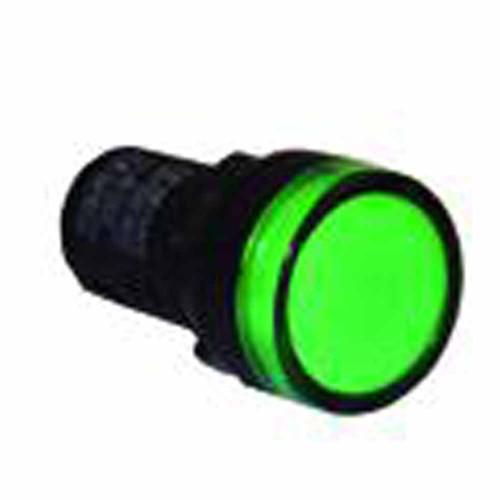 Aurra 22mm Led'li Sinyal Lambası (Yeşil)