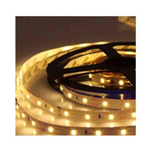 Bright 3 Çipli 4040 İç Mekan Silikonsuz Şerit Led-5m (Amber)