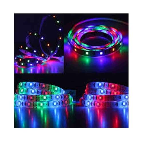 Bright 3 Çipli RGB 5050 İç Mekan Silikonsuz Şerit Led-5m