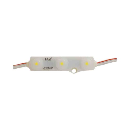 Cata 2835 İç Mekan Modül Led Mercekli 12V/1,2W CT-4591G (Günışığı)