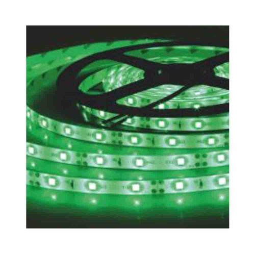 Helios 3 Çipli 5050 İç Mekan Silikonsuz Şerit Led-5m (Yeşil)