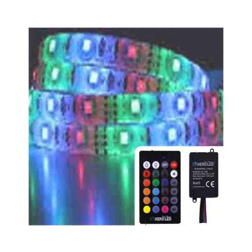 Hero1 Çipli RGB Set Dış Mekan Silikonlu Şerit Led-5m
