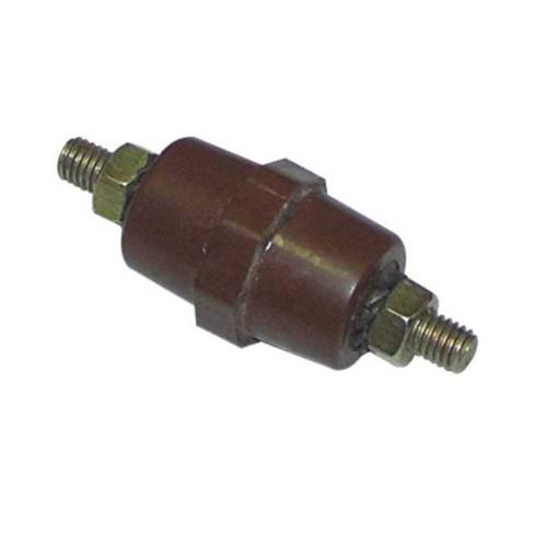 Hüner M5 25mm Mini Fıçı İzolatör (2 Tarafı Civatalı)