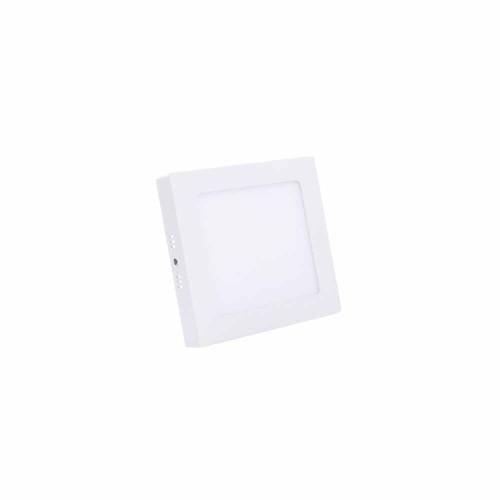 İthal 6W Sıvaüstü Kare Panel Led Armatür 6500K (Beyaz)