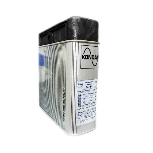 Kondaş 12,5 kVAr 3 Fazlı 400V Trifaze Kutu Tip Güç Kondansatörü ZG12D01Y0