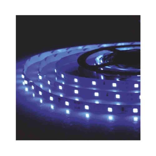 Pulus 3 Çipli 5050 İç Mekan Silikonsuz Şerit Led-5m (Mavi)