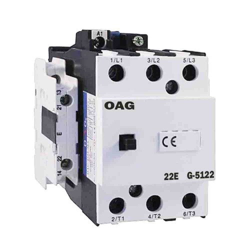 Oag 140A 75kW 2NA 2NK Güç Kontaktörü G5122