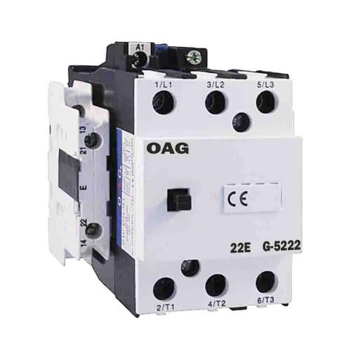 Oag 170A 90kW 2NA 2NK Güç Kontaktörü G5222