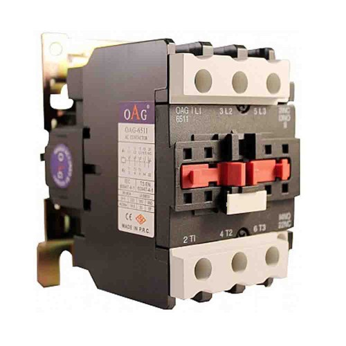Oag 18A 7,5kW 1NK Güç Kontaktörü D1801