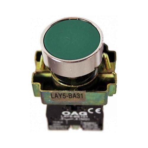 Oag 22mm Yeşil Start Butonu