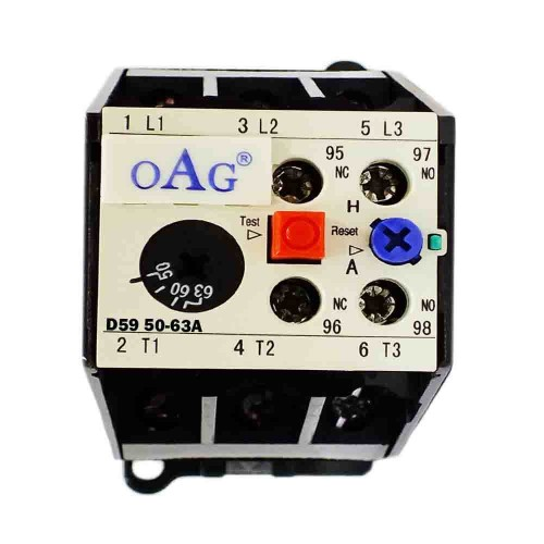 Oag 50-63A Ray Tipi Termik Röle Oag 59