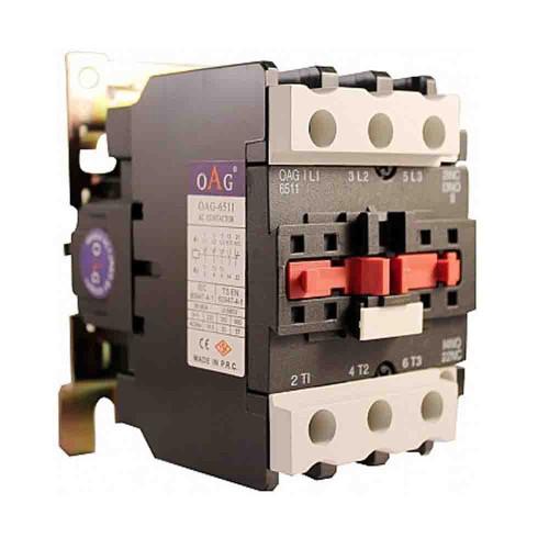 Oag 50A 22kW 1NA 1NK Güç Kontaktörü D5011