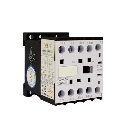 Oag 9A 4kW Mini Güç Kontaktörü 1NK M0901