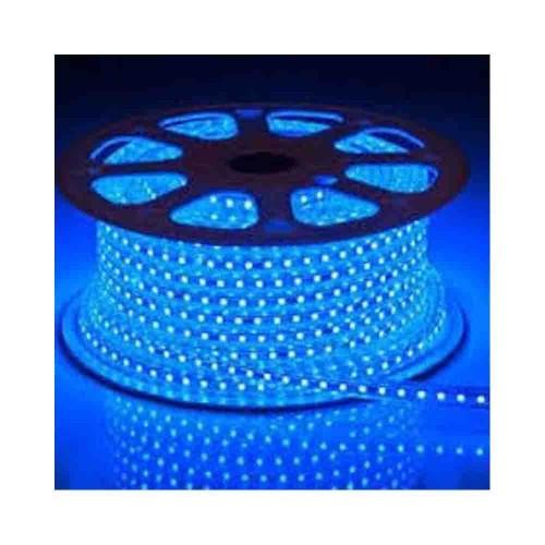 Powerlux 3 Çipli 220V Dış Mekan Hortum Led-1m (Mavi)