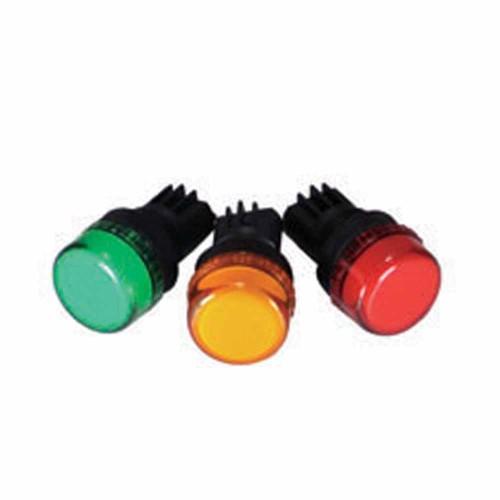 Rasel 14mm Sinyal Lambası (Yeşil)