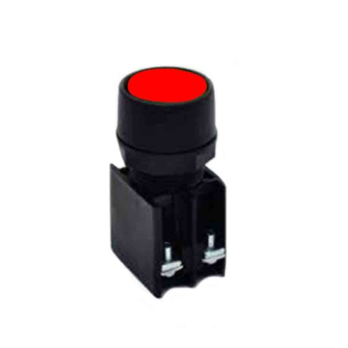 Rasel 22mm Kırmızı Stop Butonu