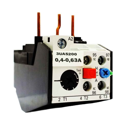 Siemens 0,4-0,63A Geçmeli Tip Termik Röle 3UA5200-0G Boy:1
