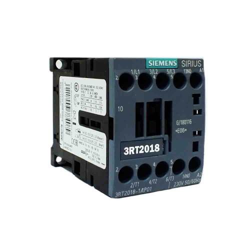 Siemens 16A 7,5kW Güç Kontaktörü 1N0 3RT2018-1AP01