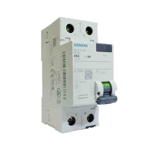Siemens 2x25A 30mA Monofaze Kaçak Akım Rölesi 5SV4312-0