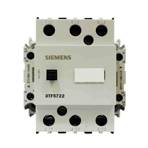 Siemens 475A 250kW Güç Kontaktörü 2N0 2NC 3TF5722-0CM7