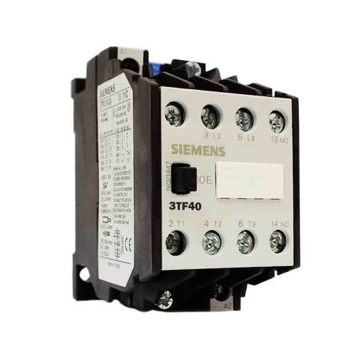 Siemens 9A 4kW 24V DC Güç Kontaktörü 1NO 1NC 3TF4011-0BB4
