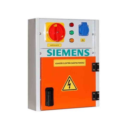 Siemens Montajlı Asansör Panosu