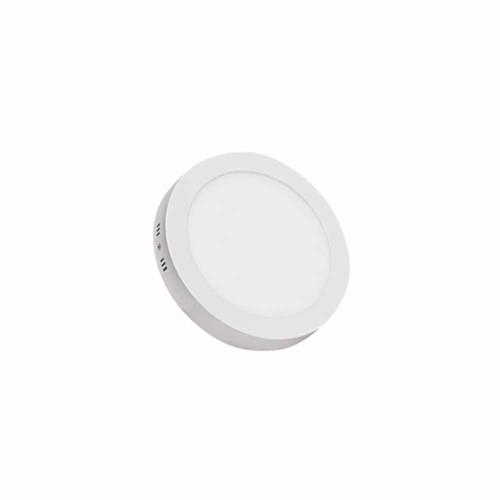 Yağız 6W Sıvaüstü Yuvarlak Panel Led Armatür 6500K (Beyaz)